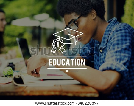 Education Learning Study School Knowledge University Concept - stock photo