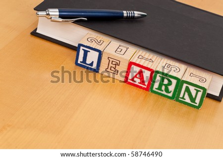 Educational Concept with Space for Text - stock photo