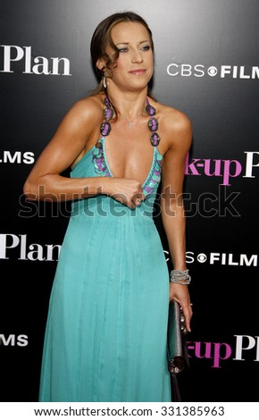 """Edyta Sliwinska at the Los Angeles premiere of """"The Back-Up Plan"""" held at the Westwood Village Theater in Hollywood, USA on April 21, 2010. - stock photo"""