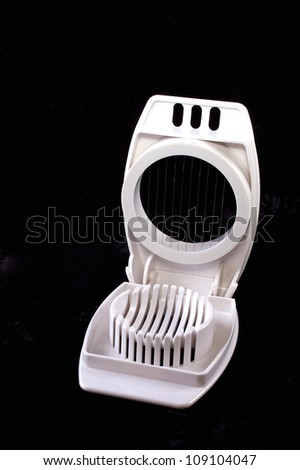 Egg Slicer - stock photo