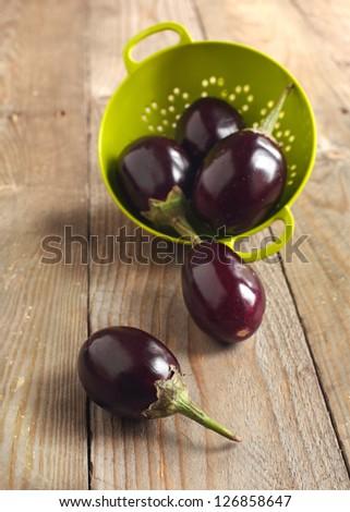 Eggplant - stock photo