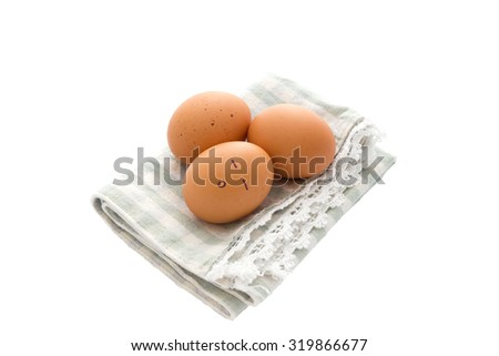 Eggs are hatched - stock photo