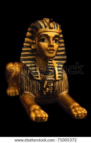 Egyiptian sphinx - stock photo