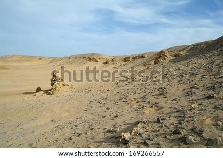 Egyptian Desert - stock photo