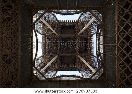Eiffel tower, Paris. France. - stock photo