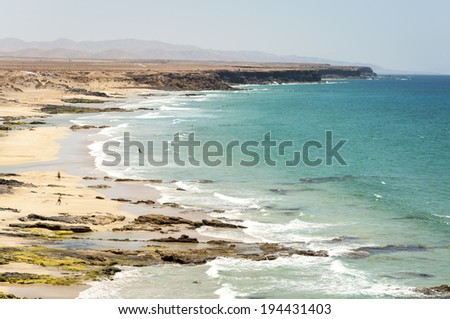 El Cotillo Beach - stock photo