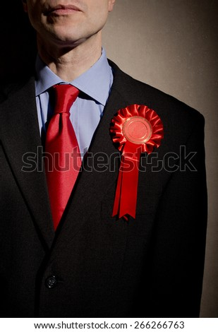 Election Candidate - stock photo