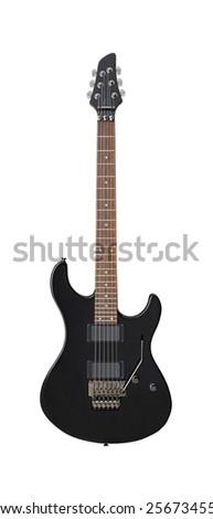 Electric bass guitar - stock photo