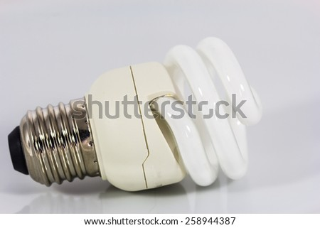 Electric bulb  - stock photo
