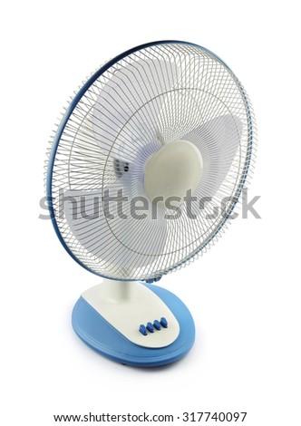 Electric Fan - stock photo