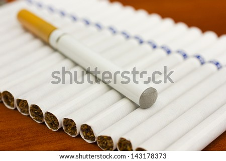 Electronic Cigarette - stock photo