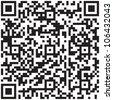 Electronic graphics code - qr barcode illustration. - stock photo