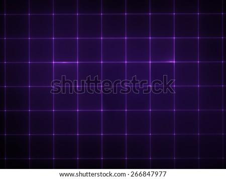 Electronic lattice - Abstract Modern Techno Background - stock photo