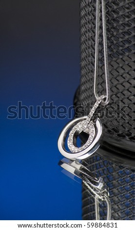 Elegance necklace - stock photo