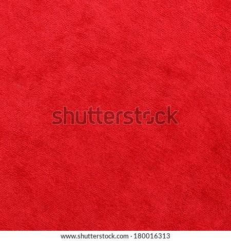 elegance red color carpet texture - stock photo
