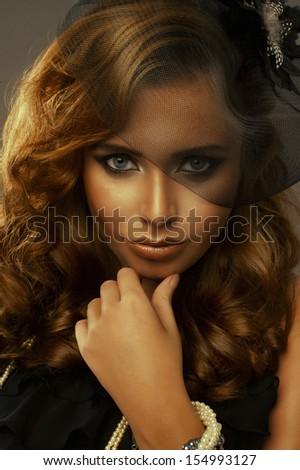 Elegance woman  - stock photo