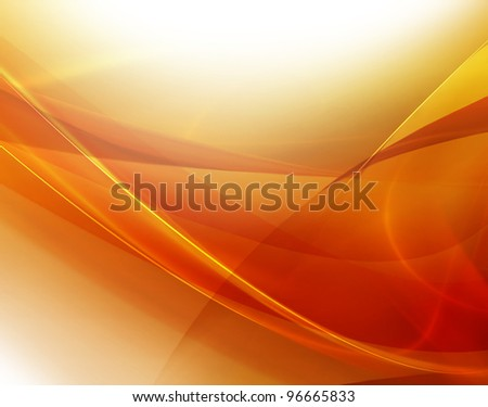 elegant abstract background with abstract smooth lines - stock photo