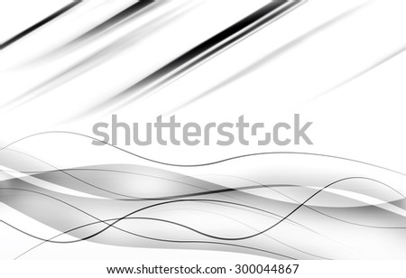 elegant abstract background with waves - stock photo
