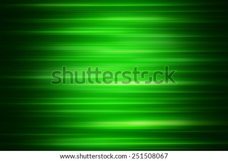 Elegant abstract horizontal green background with lines - stock photo