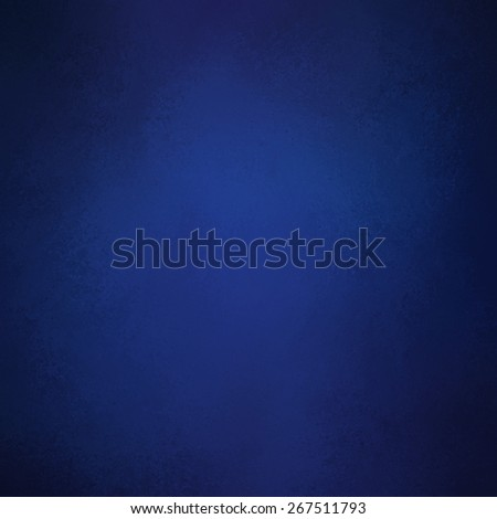 elegant blue background color. Textured vintage dark blue background with black vignette shadow border. - stock photo