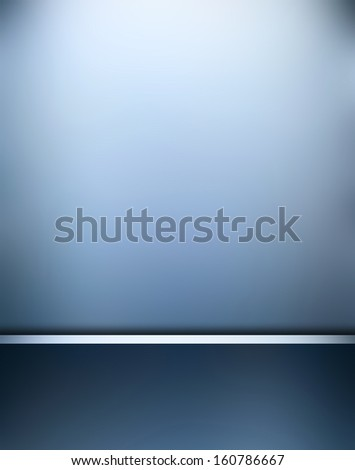 elegant blue texture with space for text - stock photo