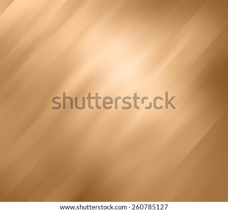 elegant gold background with diagonal motion blur effect streaks on shiny metallic background color - stock photo