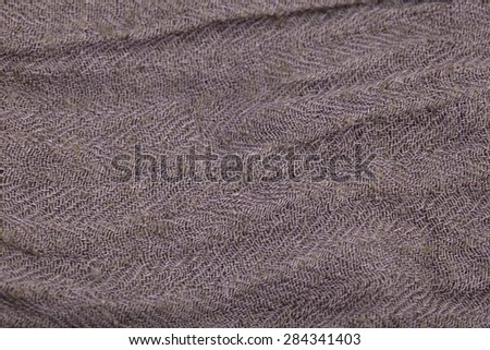 Elastic Fabric Texture Gray Cotton Fabric Texture