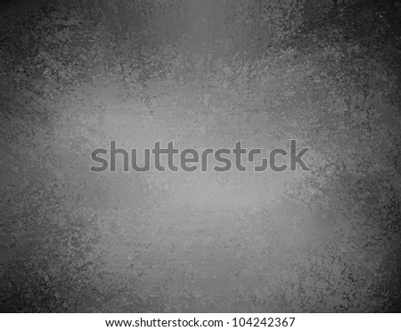 elegant monochrome black and white background with abstract center spotlight, gray black background elegant  vintage grunge background texture layout - stock photo