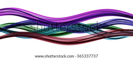 elegant panorama background design with space for your text - stock photo