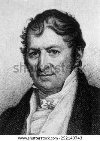 Eli Whitney (1765-1825) - stock photo
