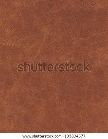 elite brown leather background. - stock photo