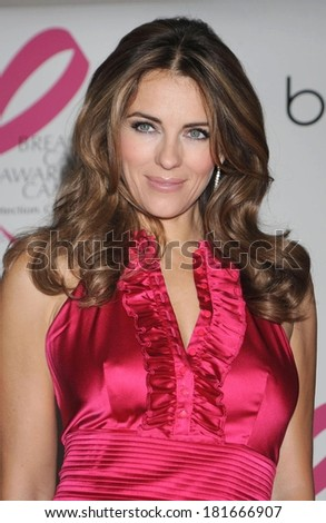 Elizabeth Hurley at Illumination of Bloomingdales and Shopping Night, Bloomingdale's Department Store, New York, October 02, 2008 - stock photo