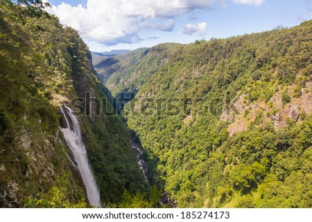 Ellenborough Falls,Greater Taree area, New South Wales Australia - stock photo