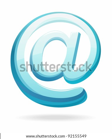 email icon - stock photo
