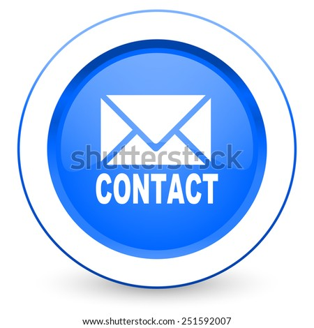 email icon contact sign  - stock photo