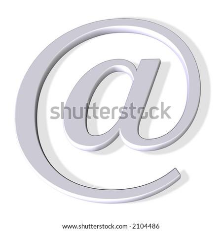 email symbol - stock photo