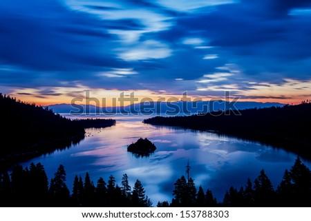 Emerald Bay Lake Tahoe California - stock photo