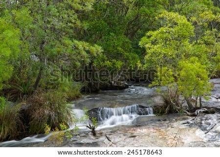 Emerald Creek near Mareeba, Queensland, Australia - stock photo