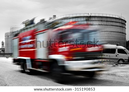 emergency response. - stock photo