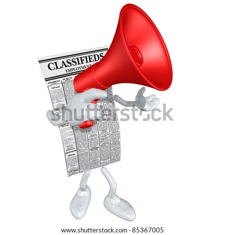 Employment Classifieds - stock photo