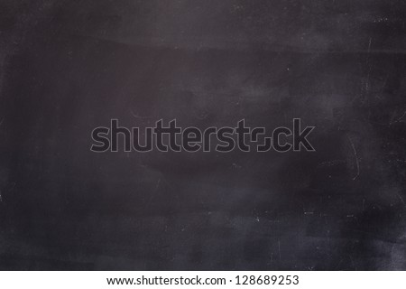 Empty Blackboard Background. Macro shot. - stock photo