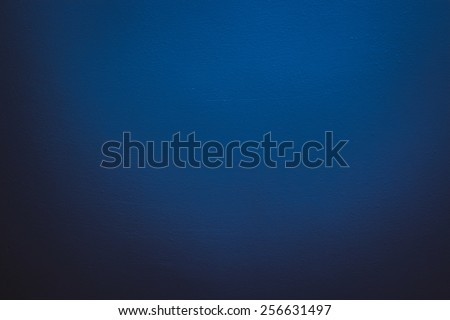 Empty blue background and only dark blue background - stock photo