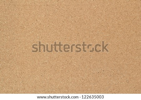 Empty bulletin board, cork board texture or background - stock photo