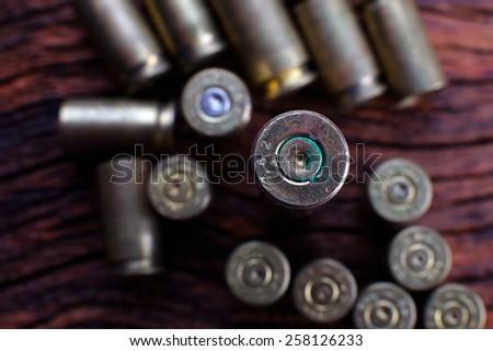 Empty Bullets - stock photo