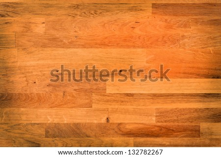 empty butcher chopping board - stock photo