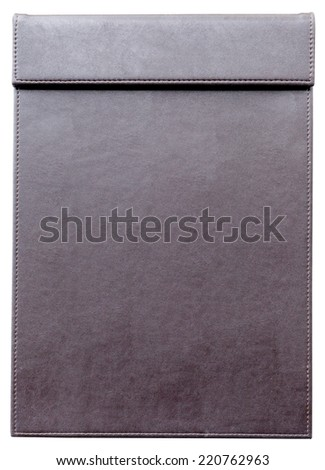 Empty clipboard for notepad, for memorandum in meeting room. - stock photo