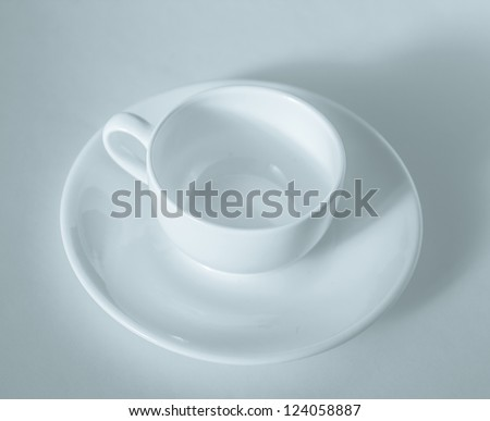 Empty coffee cup - stock photo