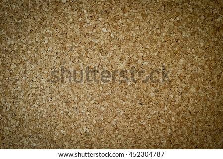 Empty cork board.Empty bulletin board, cork board texture - stock photo
