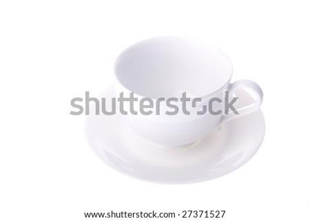 empty cup - stock photo