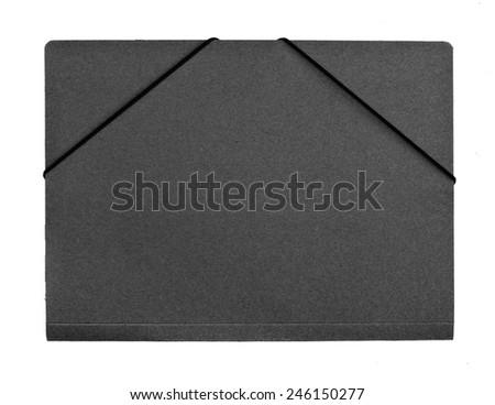 empty folder - stock photo